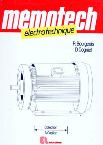 René Bourgeois et Denis Cogniel - Electrotechnique.