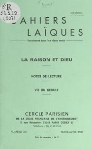 René Buvet et Ernest Kahane - La raison et Dieu.