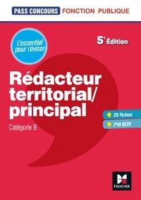 Livres d'epubs gratuits à télécharger Pass'Concours - Rédacteur territorial/principal - Cat B - Révision et entraînement 9782216154456