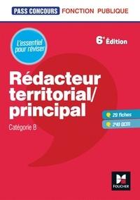 René Canfin-Doco et Claude Parisse - Pass'Concours - Rédacteur territorial/principal - Cat B - Révision et entraînement.