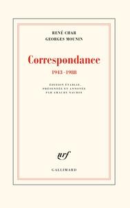 René Char et Georges Mounin - Correspondance 1943-1988.