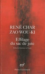 René Char et Wou-Ki Zao - Effilage du sac de jute.