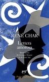 René Char - Lettera amorosa - Suivi de Guirlande terrestre.