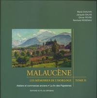 René Chauvin et Jacques Galas - Malaucène, village du Ventoux - Les mémoires de l'horloge.