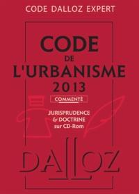 René Cristini et Marie-Christine Mehl-Schouder - Code de l'urbanisme commenté - Jurisprudence & doctrine sur CD-Rom. Editon 2013. 1 Cédérom