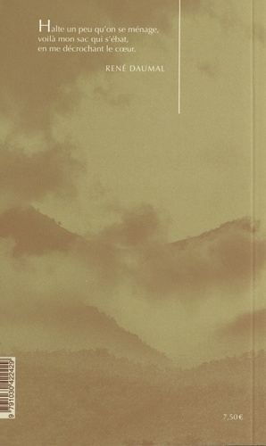 Le Mont analogue. Roman d'aventure alpines, non enclidiennes et symboliquement authentiques