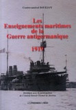René Daveluy - Les enseignements maritimes de la guerre antigermanique (1919).