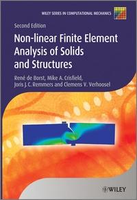 Non-linear Finite Element Analysis of Solids and Structures - René De Borst |