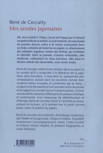 Mes années japonaises
