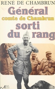 René de Chambrun et Marcel Jullian - Sorti du rang.