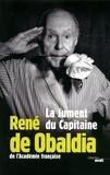 René de Obaldia - La Jument du Capitaine - Pensées, textes et répliques.