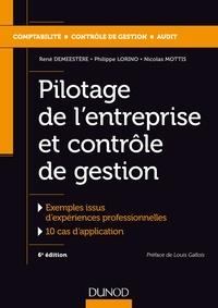 Deedr.fr Pilotage de l'entreprise et contrôle de gestion - Exemples issus d'expériences professionnelles ; 10 cas d'application Image