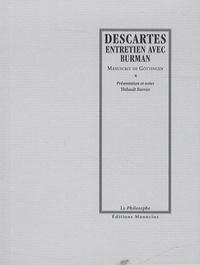 Galabria.be Entretien avec Burman, manuscrit de Göttingen - Précédé de Descartes en mouvement Image