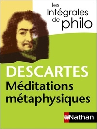 Téléchargez le livre d'Amazon Méditations métaphysiques 9782098140370 par René Descartes, André Vergez
