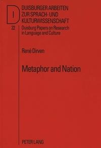René Dirven - Metaphor and Nation - Metaphors Afrikaners live by.