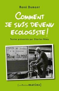 Accentsonline.fr Comment je suis devenu écologiste! Image