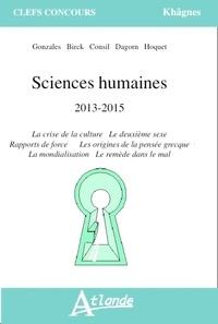 René-Eric Dagorn et Anne Amiel - Sciences humaines 2013-2015.