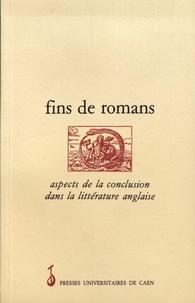 René Gallet et Hédi Ben Abbes - Fins de romans - Aspects de la conclusion dans la littérature anglaise.