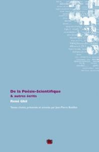 René Ghil - De la poésie-scientifique & autres écrits.