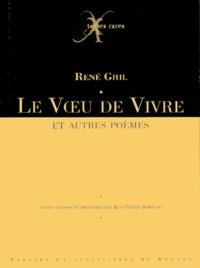 René Ghil et Jean-Pierre Bobillot - Le voeu de vivre - Et autres poèmes. 1 CD audio
