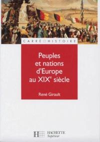 René Girault - Peuples et nations d'Europe au XIXe siècle.