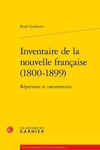 René Godenne - Inventaire de la nouvelle française (1800-1899) - Répertoire et commentaire.