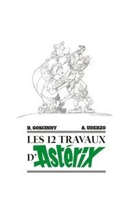 René Goscinny et Albert Uderzo - Astérix  : Les 12 travaux d'Astérix - Avec 12 ex-libris.