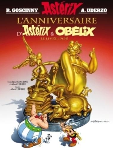 Astérix Tome 34 L'anniversaire d'Astérix et Obélix. Le livre d'or