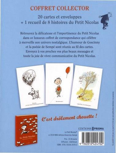 Le petit Nicolas - Avec 20 cartes et enveloppes de René Goscinny - Grand  Format - Livre - Decitre