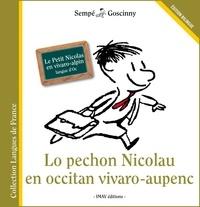 René Goscinny et  Sempé - Lo Pechon Nicolau en occitan vivaro-aupenc - Le petit Nicolas en vivaro-alpin.