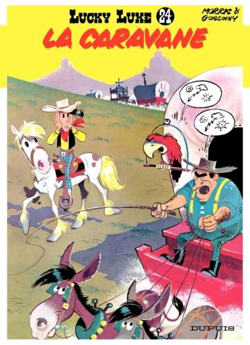 Lucky Luke Tome 24 - La caravaneRené Goscinny Morris - Format PDF - 9791034706051 - 5,99 €