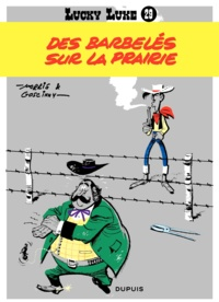 René Goscinny et  Morris - Lucky Luke Tome 29 : Des barbelés sur la prairie.
