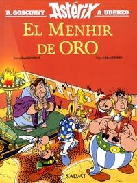 René Goscinny et Albert Uderzo - Una aventura de Astérix  : El menhir de oro.