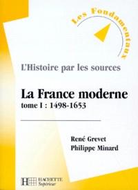 Histoiresdenlire.be LA FRANCE MODERNE. - Tome 1, 1498-1653 Image