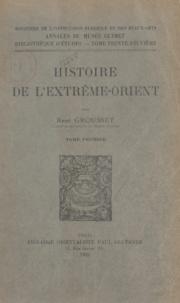 René Grousset - Histoire de l'Extrême-Orient (1).
