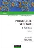 René Heller et Robert Esnault - Physiologie végétale - Tome 1, Nutrition.