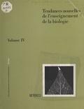 René Heller - Tendances nouvelles de l'enseignement de la biologie.