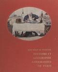 René Héron de Villefosse - Histoire et géographie gourmandes de Paris.