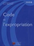 René Hostiou - Code de l'expropriation pour cause d'utilité publique 2008.