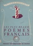 René Lalou - Les plus beaux poèmes français.