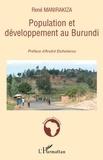 René Manirakiza - Population et développement au Burundi.