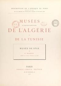 René Massigli - Musée de Sfax.