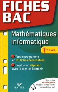 René Merckhoffer - Mathématiques informatique 1e L obligatoire.