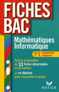 René Merckhoffer - Mathématiques Informatique 1e L - Enseignement obligatoire.