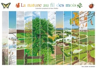 René Mettler - La nature au fil des mois - Calendrier perpétuel.