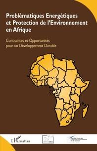 René Nganou Koutouzi et Edgard Bossoken - Problématiques énergétiques et protection de l'environnement en Afrique - Contraintes et opportunités pour un développement durable.