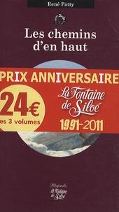 René Patty et Daniel Grévoz - Les chemins d'en haut ; La Vierge des Drus ; Glace Noire - Pack 3 volumes Rhapsodie.