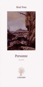 René Pons - Personne.