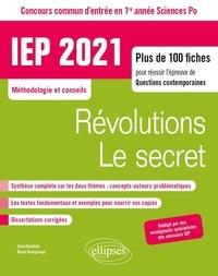René Rampnoux - Révolutions/Le secret Questions contemporaines - Concours commun IEP / Sciences Po 1re année.