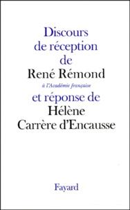 René Rémond et Hélène Carrère d'Encausse - .